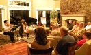 Catgut Trio performing at the Murphy residence
