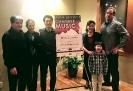 Francis & Isabelle Senger hosting the Crown City String Quartet