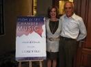 Janet Truselo & Ray Murphy hosting the Catgut Trio