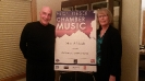 Roger & Kathy Wolcott hosting the Crown City String Quartet