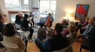 Crown City String Quartet performing at the Gray residence