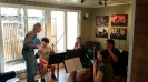 Spotlight Chamber Players receiving instruction from Phillip Ruder (Retired Cincinnati Symphony Orchestra Concertmaster)