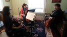 Spotlight Chamber Players instructed by cellist Armen Ksajikian from the Catgut Trio