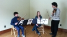 Spotlight Chamber Players instructed by violinist Kevin Kumar from the Catgut Trio