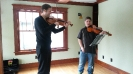 Spotlight Chamber Players instructed by violist Robert Brophy from the Catgut Trio